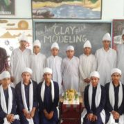 Clay Modelling Sessions at Akal Academy, Bilga