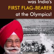 Balbir Singh was India's First Flag-Bearer at the Olympics!