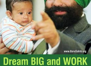Dream BIG and WORK for your SUCCESS - Sukhjinder Singh