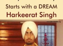 Every Success Story Starts with a DREAM-Harkeerat
