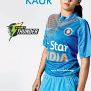 Harmanpreet Kaur -First Indian player to playing in the Australian Big Bash League!