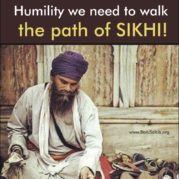 How Sewa reminds us of the Humility we need to walk the path of SIKHI!