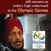 Milkha Singh 'Flying Sikh' still remains as India's high watermark at the Olympic Games