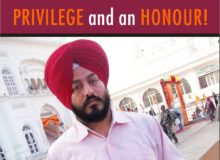 SUKHDEV SINGH-Serving Humanity is a PRIVILEGE and an HONOUR!