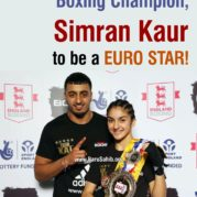 National Boxing Champion, Simran Kaur to be a EURO STAR!