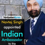 navtej-singh-appointed-indian-ambassador-to-the-us
