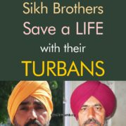 Sikh Brothers Save a LIFE with their TURBANS
