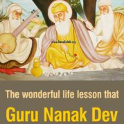 The wonderful life lesson that Guru Nanak Dev told to a proud person