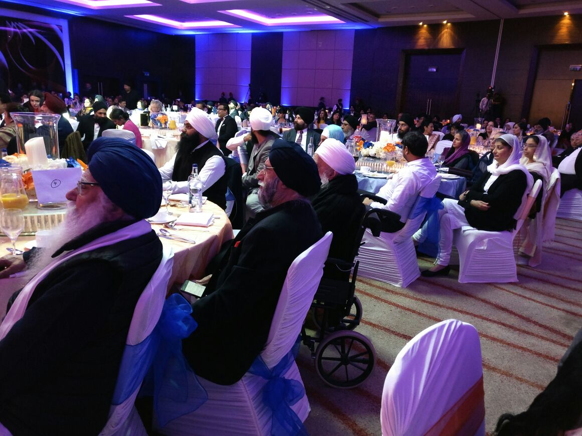 UNTIRED. UNRETIRED at 93 - #BabaIqbalSingh of #BaruSahib honoured with #SikhLifetimeAchievement at #SikhAwards2016 UK on 19 Nov 2016.
