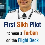 First Sikh Pilot to wear a Turban on the Flight Deck- Arpinder Kaur