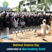 National Science Day celebrated at Akal Academy, Gomti