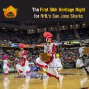 The First Sikh Heritage Night for NHL's San Jose Sharks