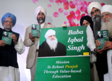 "Baba Iqbal Singh - Mission to Reboot Punjab Through Value - Based Education"" - Book Launch"