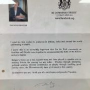 PM of London Theresa may sends Best Wishes to Sikhs celebrating Baisakhi