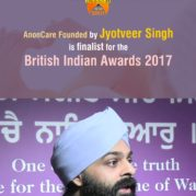 AnonCare Founded by Jyotveer Singh is finalist for the British Indian Awards 2017