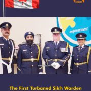 The First Turbaned Sikh Warden to be the institutional head of a federal prison in Canada