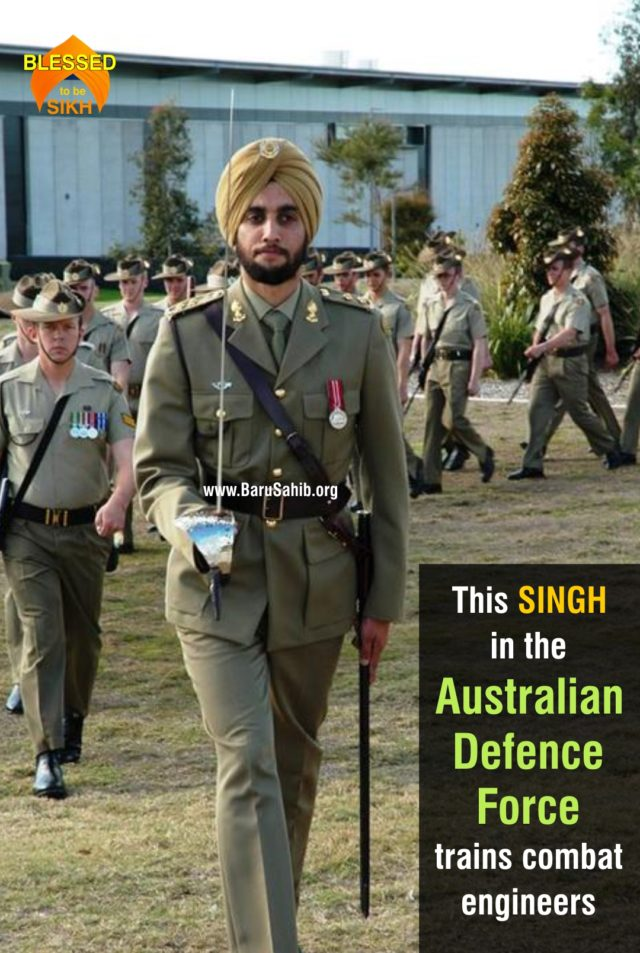 This SINGH in the Australian Defence Force trains combat engineers 1